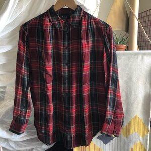 Madewell long sleeve central shirt
